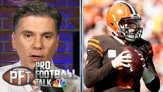 PFT Overtime: What's wrong with Baker Mayfield? | Pro Football Talk | NBC Sports