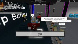 Roblox Rap Battles Gameplay| ROBLOX *Being Eminem with fans!*