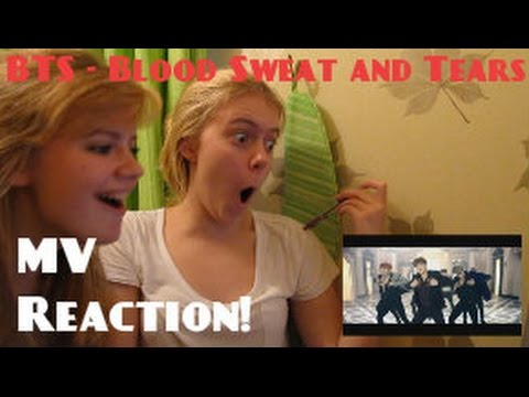 BTS/방탄소년단 - Blood, Sweat and Tears/피 땀 눈물 MV Reaction - Hannah May
