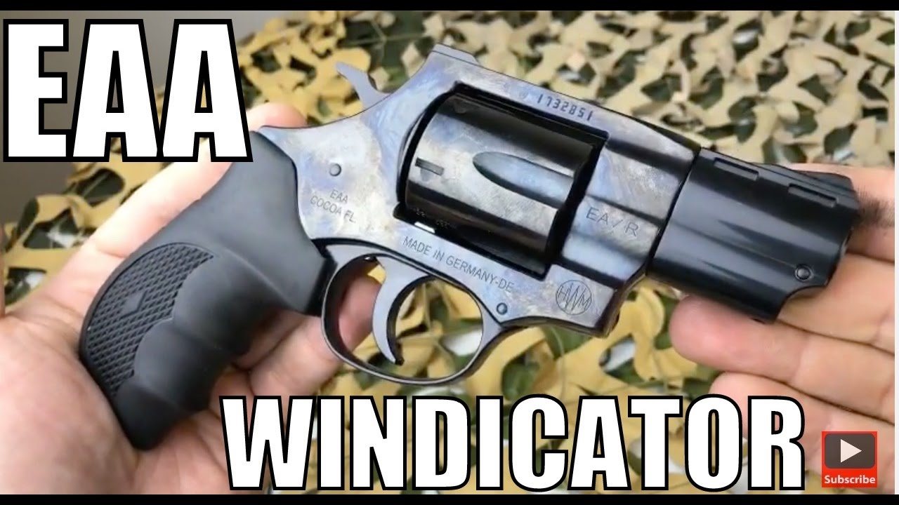 EAA Windicator  38 Special  357 Mag Snub Nose 2