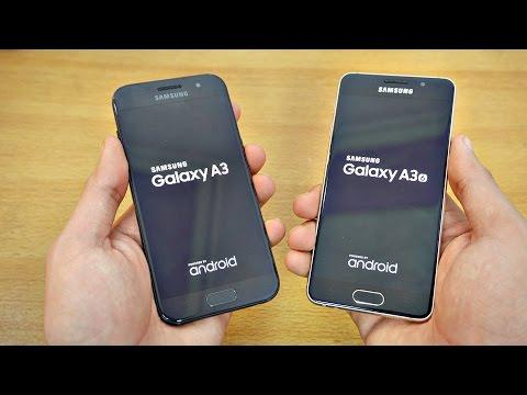 Samsung Galaxy A3 (2017) vs A3 (2016) - Speed Test! (4K)