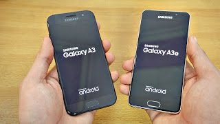 samsung Galaxy A3 (2017) vs A3 (2016) - Speed Test! (4K)