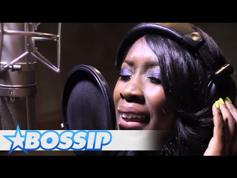 Private Studio Session With Meelah | BOSSIP