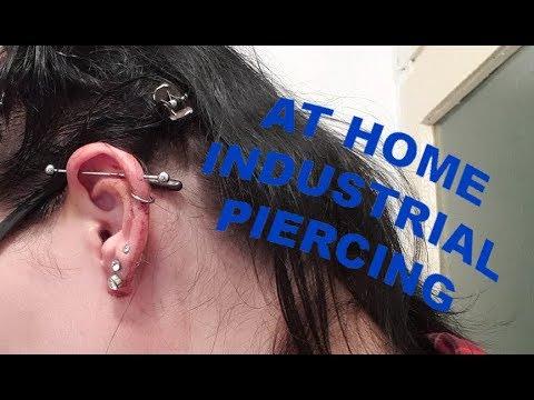 At Home Industrial Piercing DIY | Contains a FAIL |