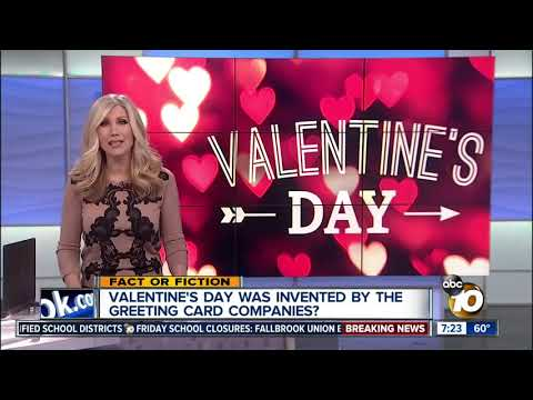 Valentine's Day created by greeting card companies?