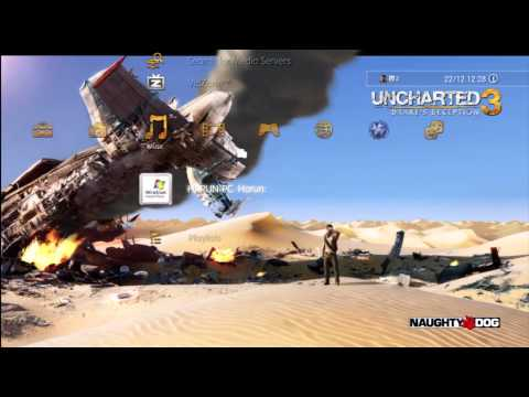 Uncharted 3: Dynamic Theme HD-Quality (PS3)