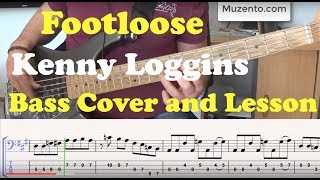 Footloose - Bass Cover and Lesson