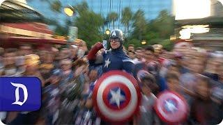 Disney Parks Blog Fans See Marvel's 'Captain America: Civil War' | Disneyland Resort