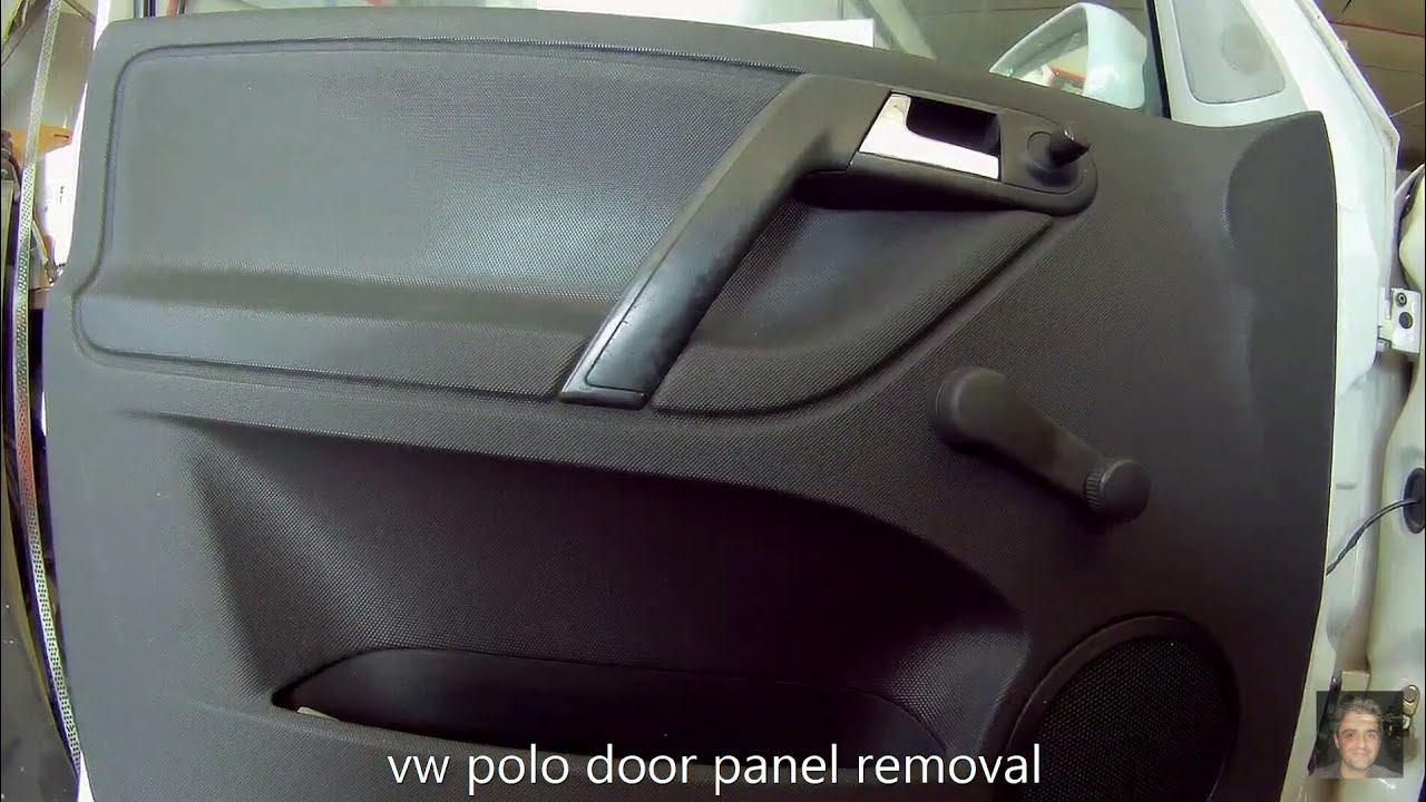 Volkswagen Polo 1994 2003 Door Panel Removal Youtube