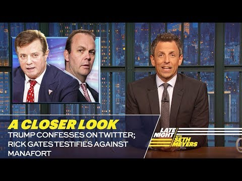 Seth Meyers To Trump: 'Uh Oh! You Have DEMENTIA!'