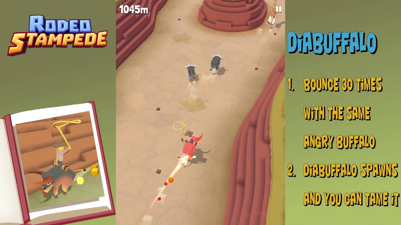 Rodeo Stampede How To Get The Diabuffalo Secret