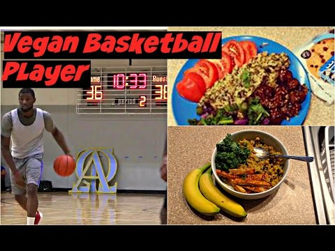 Vegan High Protein Full day of eating| Vegan Basketball Player.