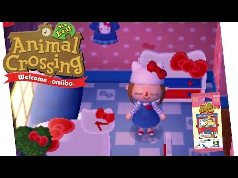 All sanrio furniture animal crossing new leaf youtube for Animal crossing new leaf arredamento