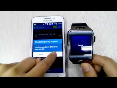 NO.1 G2 Smart Watch Bluetooth 4.0 Tutorials - Connect smartwatch to Android smartphone