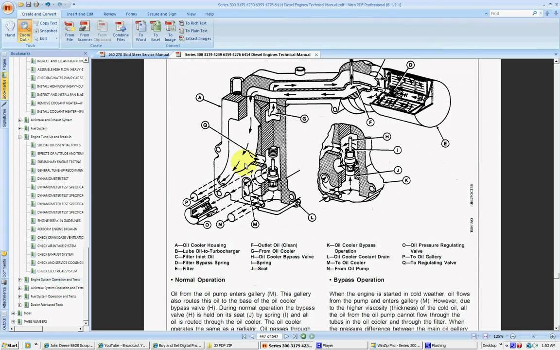 John Deere Series 300 Tech Manual