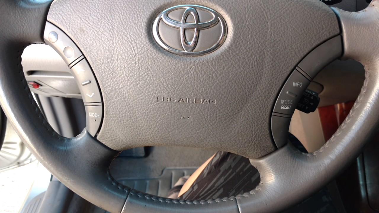 Toyota Camry Xle 2005 Interior Gv