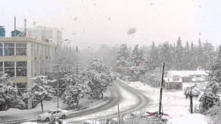 Снег в Адлере (Сочи).mpg