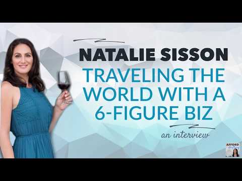 How Natalie Sisson Travels The World & Runs A 6-Figure Business | Afford Anything Podcast (Audio)