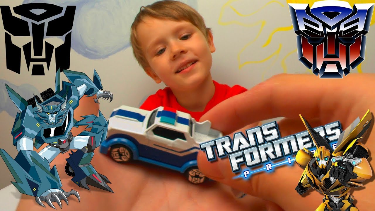 Машинки Бамблби и Трансформеры Игрушки для мальчиков Видео для детей
