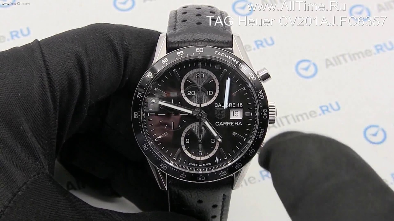 wholesale dealer 2251c 4fe19 Обзор. Швейцарские наручные часы TAG Heuer CV201AJ.FC6357 с хронографом