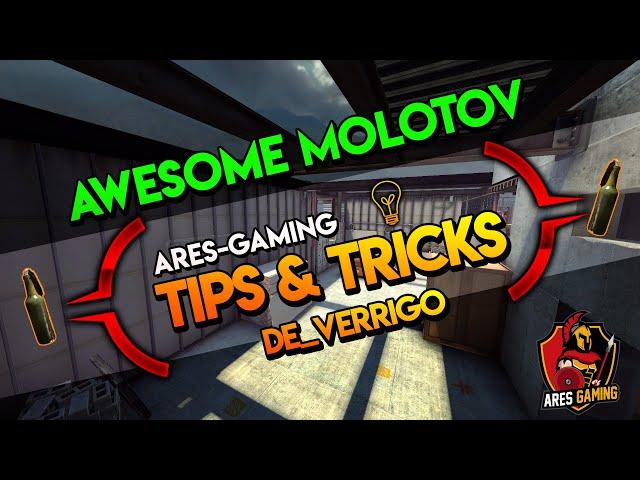 Tips & tricks: DE_VERTIGO AWESOME MOLOTOV  CS:GO [2019] by Ares-Gaming