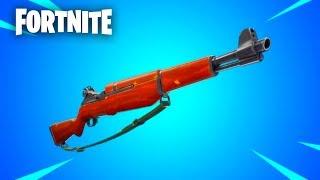 "Fortnite: ""infantry rifle"" gameplay Update"