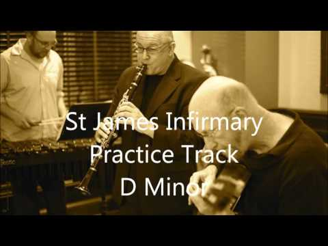St James Infirmary   Practice Track D Minor