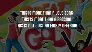 Here I Am Lord   Great Big God  Lyric Video Vineyard UK Kids Worship