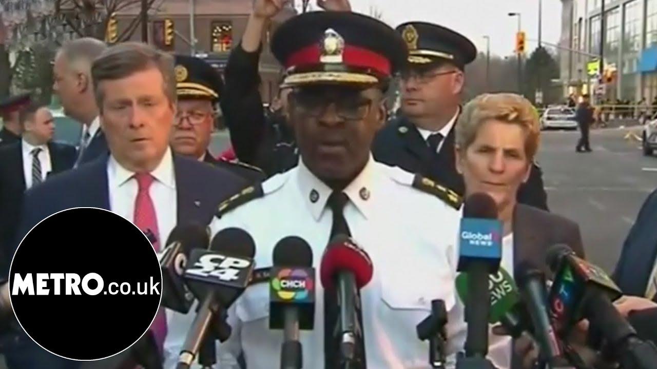 Police name man arrested in Toronto Canada van crash | Metro.co.uk