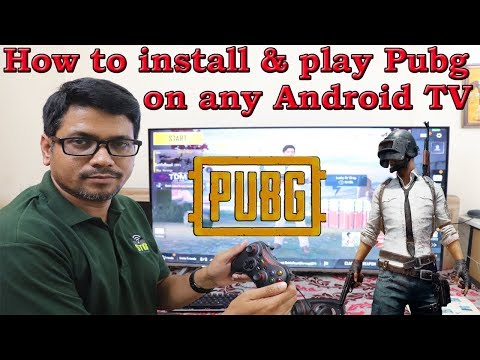 Hindi || How To Install & Play Pubg Game On Any Android TV | VU | Mi | Etc.