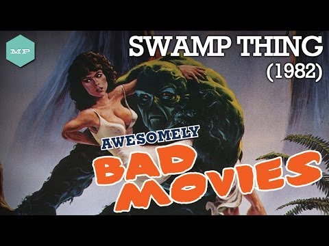 SWAMP THING (1982) - Awesomely Bad Movies