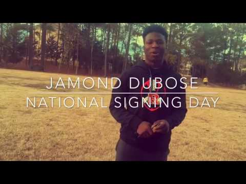 Jamond Dubose - National Signing Day at Jimmy V