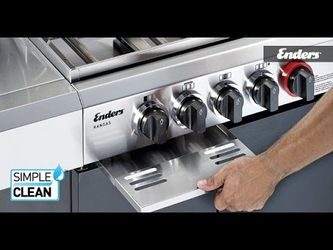 Enders Gasgrill Reinigung : Enders simple clean gasgrill technologie youtube
