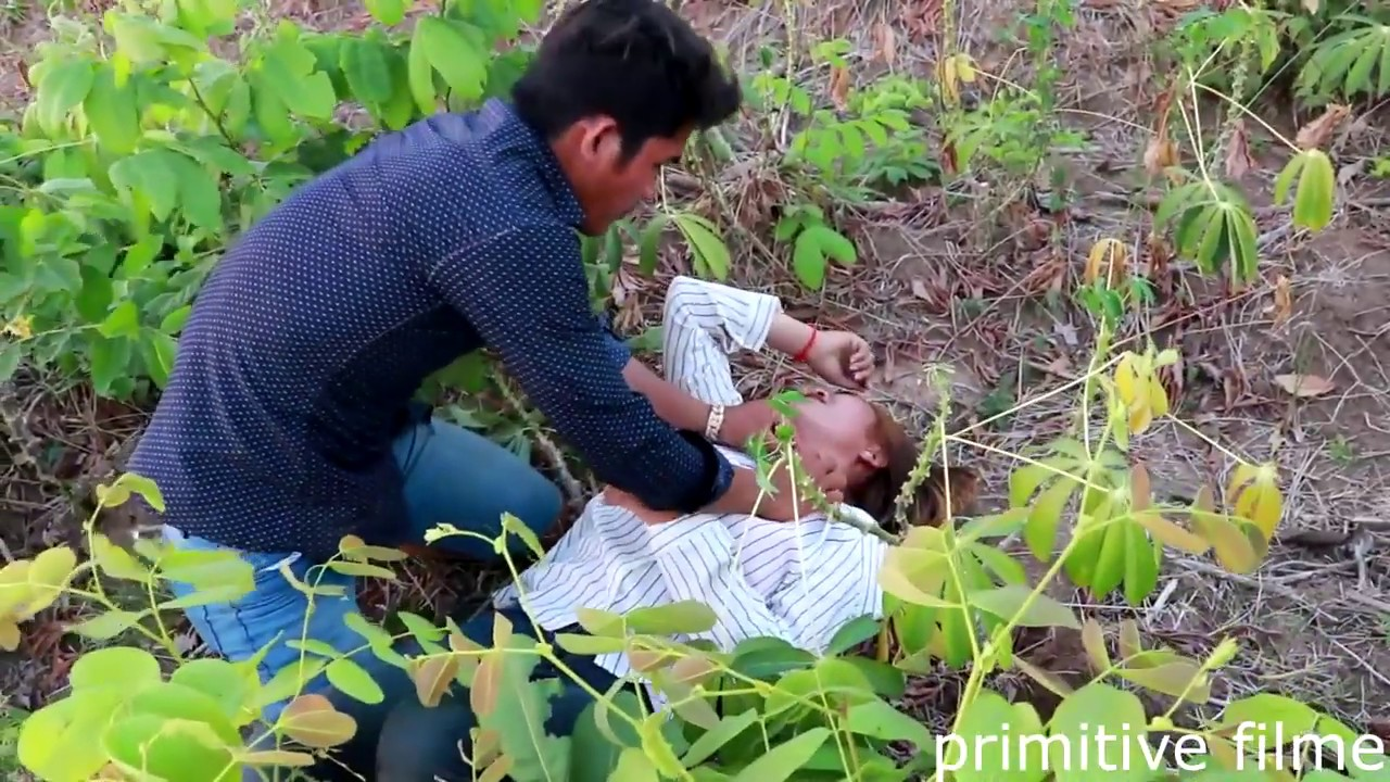 Primitive Film Girl - Beautifulgirl Bad luck in When going to the fields - short video
