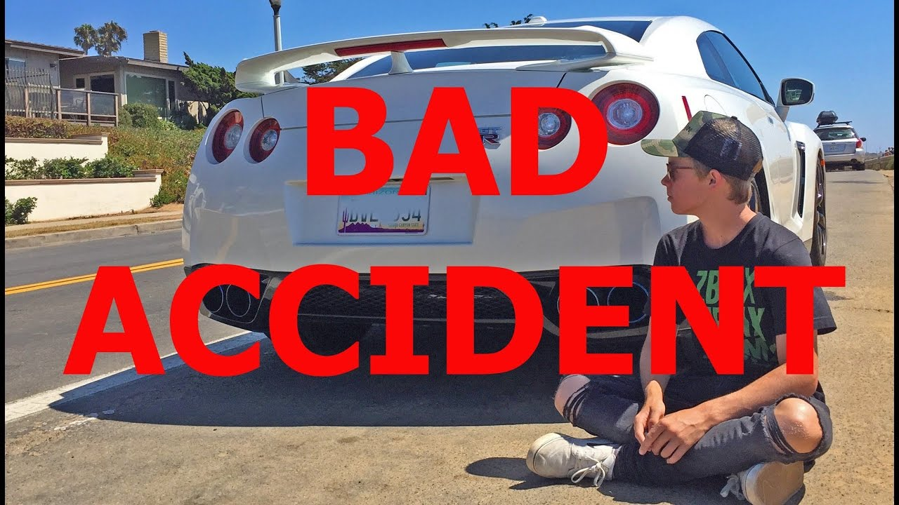 TANNER FOX IN BAD CAR ACCIDENT