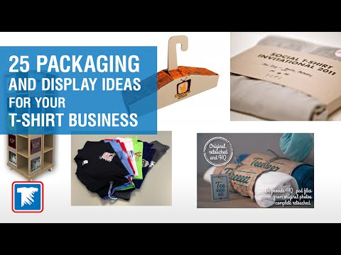 25 Packaging and Display Ideas for Your T-Shirt Business