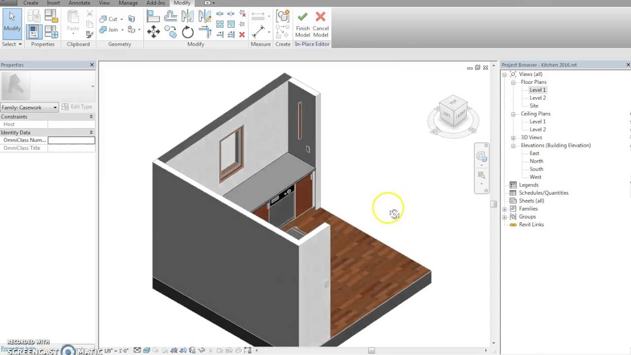 Revit Custom Countertop Youtube