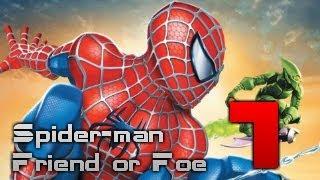 Полное Прохождение Spider-Man Friend or Foe - Part 1