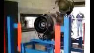 J-69 Turbojet Engine Startup
