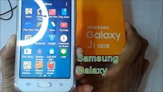 Cara Menggunakan Samsung Galaxy J1 Ace (J110G) Unboxing Indonesia.