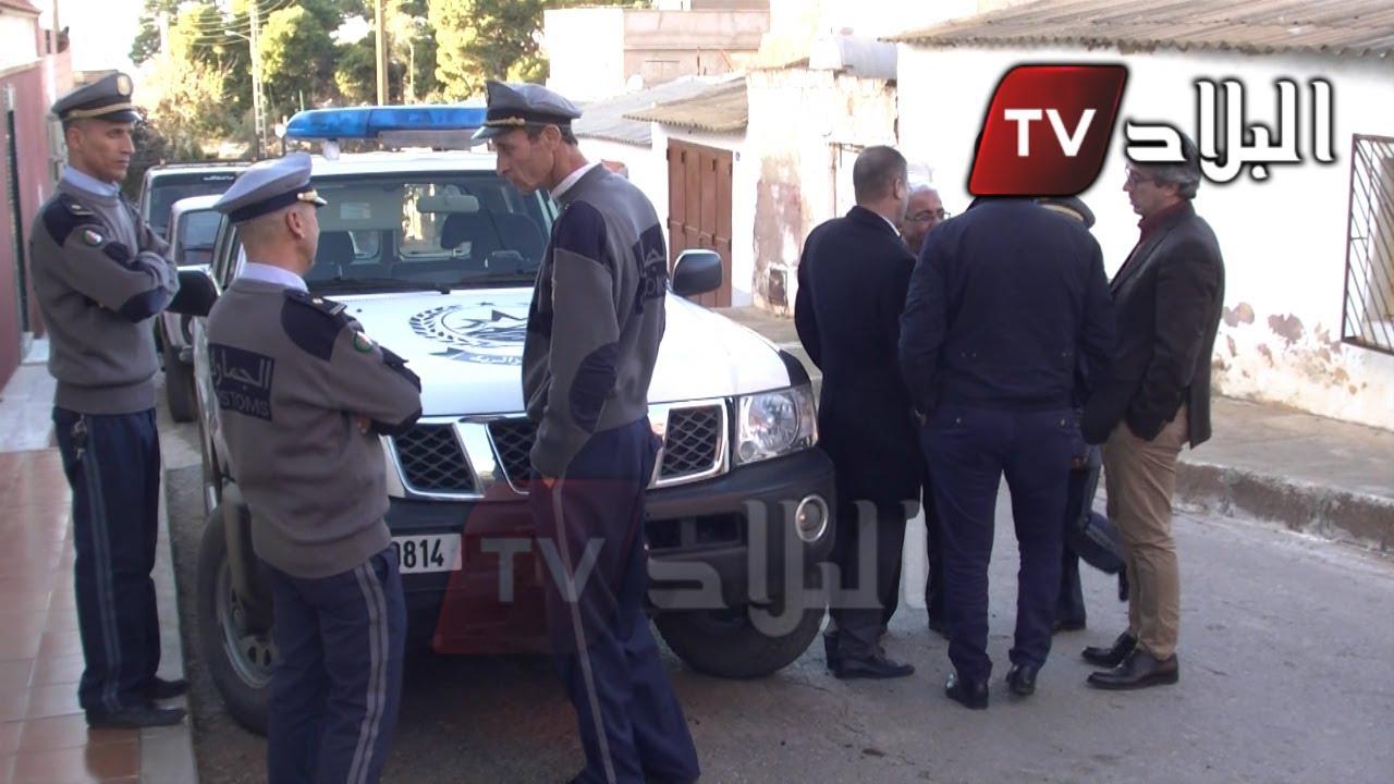 هجوم عنيف مسلح على مسكن ضابط جمارك و زوجته الحامل بوهران