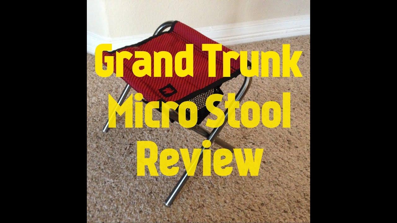 Grand Trunk Micro Stool Review Muddytigeroutdoors Youtube