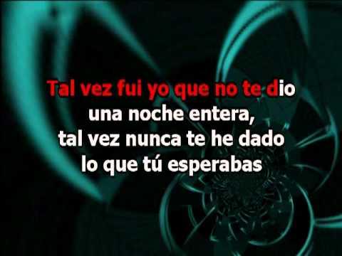 Ricky Martin - Tal Vez (karaoke)