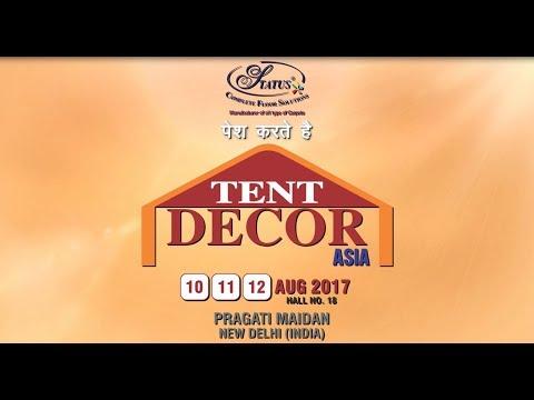 Tent Decor Asia 2017   Exhibition, Expo & Event Invitation Video