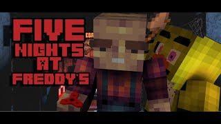 FNAF в Minecraft'e Сериал (1 НОЧЬ) #1
