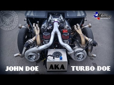 TURBO DOE TO THE FRONT!! Scott Taylors twin turbo JOHN DOE