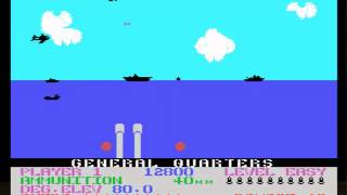 Beach Head (1985)(Access Software Inc.)  MSX GAME GAMEPLAY