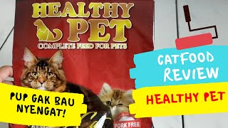 Review Catfood Healthy Pet Bikin Pup Gak Bau Nyengat | My Cats Diary