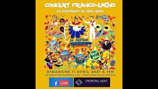 """El destino"" Concert franco-latino en livestream de Vince Bilon - dimanche 11 avril 2021"