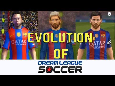 EVOLUTION OF DREAM LEAGUE SOCCER 09 To 18